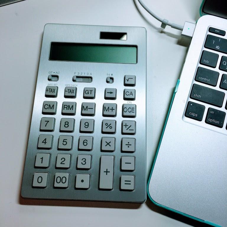 Calculator muji