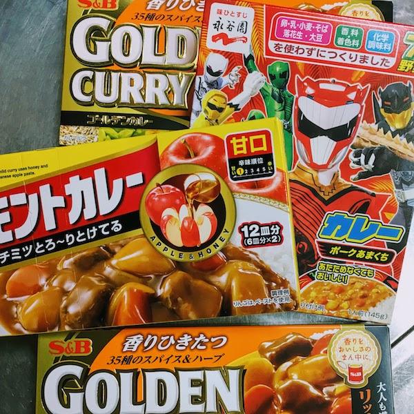 Amakuchi curry