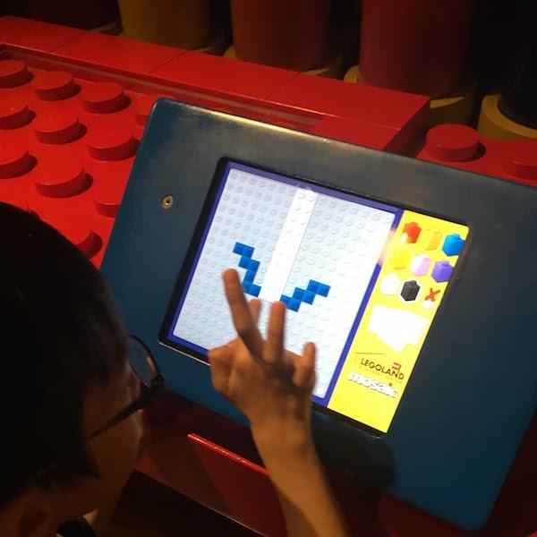 Lego block computer