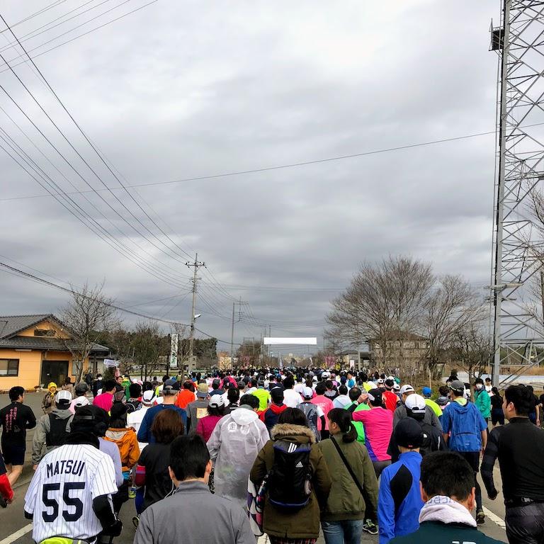 Hanamomo marathon 1