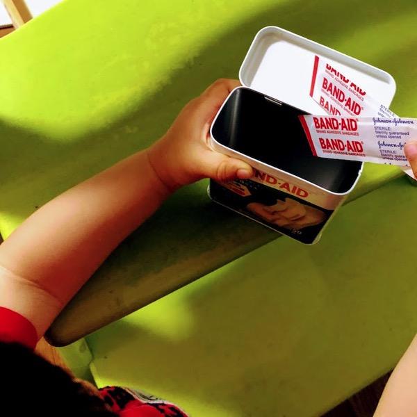 Band aid baby