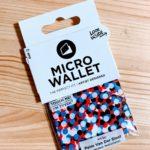 小さな小さな紙の財布『Micro Wallet』を買ってみました