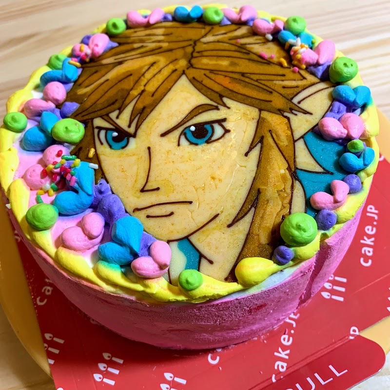 Character cake 2