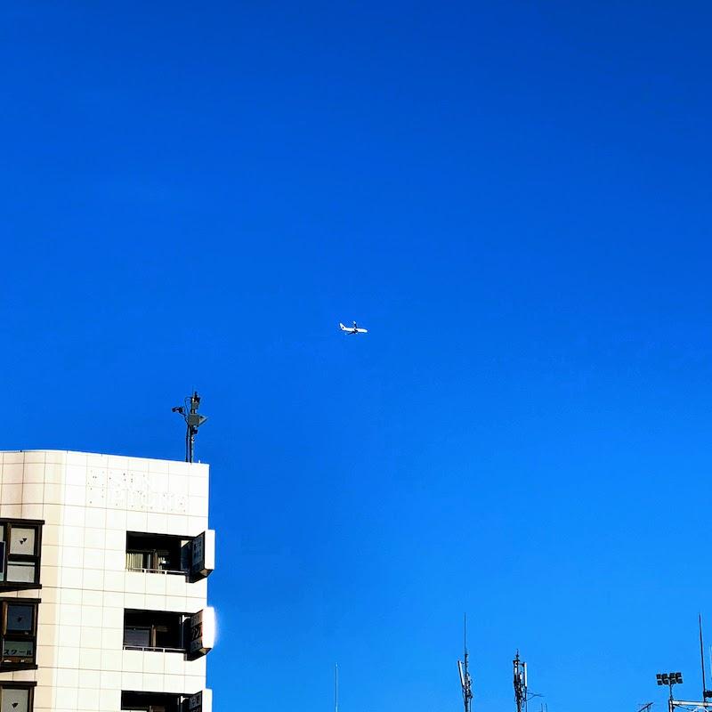 Aoiro senjusha airplane